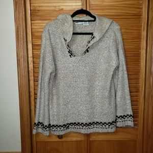 Faded Glory Pullover Free Loving Sweater Large